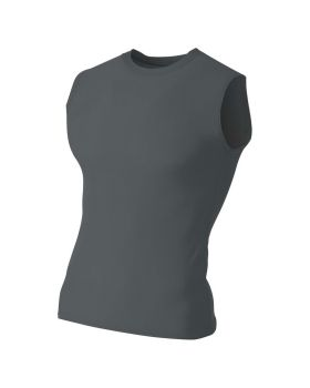 'A4 N2306 Men's Compression Muscle Shirt'