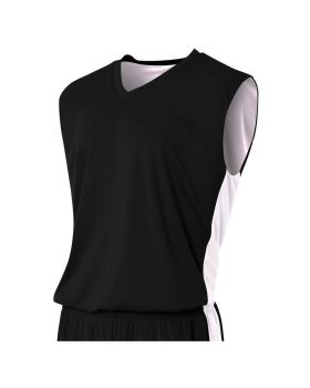A4 N2320 Adult Reversible Moisture Management Muscle Shirt