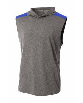 A4 N3031 Tourney Sleeveless Hooded Tee