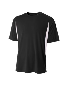 A4 N3181 Men's Cooling Performance Color Blocked T-Shirt