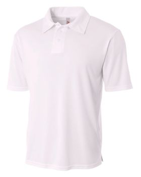 A4 N3261 Men's Solid Interlock Polo Shirt