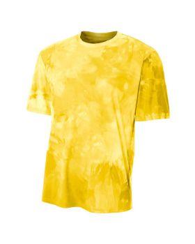 A4 N3295 Men's Cloud Dye T-Shirt