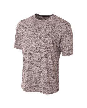 A4 N3296 Men's Polyester Space Dye T-Shirt