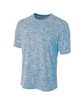 A4 N3296 Men's Polyester Space Dye T-Shirt