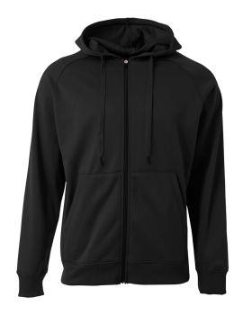 A4 N4001 Agility Long Sleeve Tech Fleece Hoodi