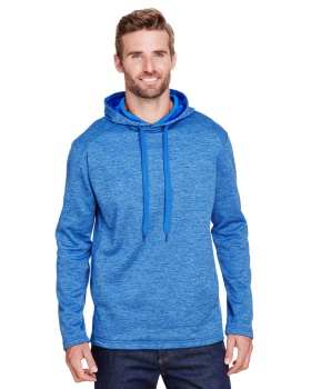 A4 N4103 Men's Tonal Space Dye-Tech Fleece Hoodie