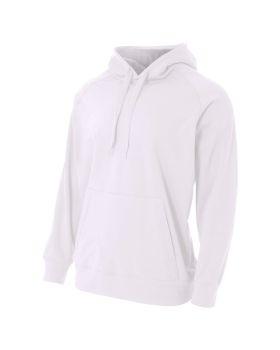 A4 N4237 Men's Solid Tech Fleece Hoodie