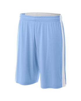A4 N5284 Adult Reversible Moisture Management Shorts