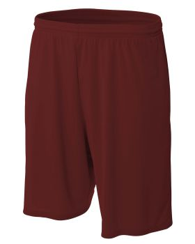A4 N5338 Men's Pocketed Performance 9 Inch Inseam Shorts