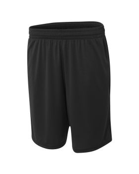 A4 N5370 Adult Player 10 Pocketed Polyester Short