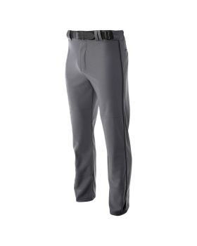 A4 N6162 Pro Style Open Bottom Baggy Cut Baseball Pants