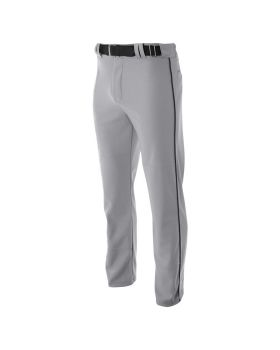A4 N6162 Pro Style Open Bottom Baggy Cut Baseball Pants