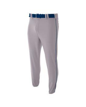 A4 N6178 Pro Style Elastic Bottom Baseball Pants