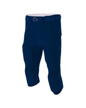 A4 N6181 Men's Spandex Flyless Nylon Football Pant