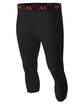 A4 N6202 Adult Polyester/Spandex Compression Tight