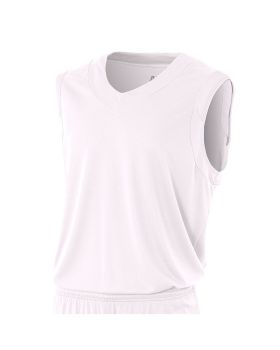 A4 NB2340 Youth Moisture Management V Neck Muscle Shirt