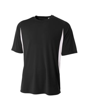 A4 NB3181 Youth Cooling Performance Color Blocked T-Shirt