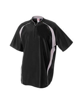 A4 NB4241 Youth 1/4 Zip Batting Jacket