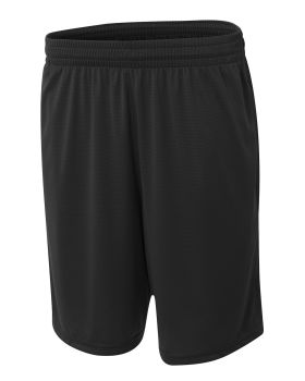 A4 NB5370 Youth Player 8 Pocketed Polyester Short