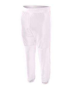 A4 NB6120 Youth Elastic Waist Doubleknit Polyester Baseball Pant