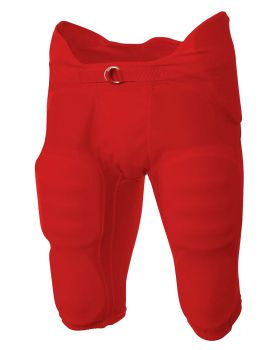 A4 NB6180 Youth Flyless Integrated Football Pants
