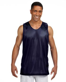 A4 NF1270 Men's Reversible Polyester Mesh Tank Top