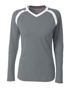 A4 NG3020 Youth Ace Long Sleeve Volleyball Jers