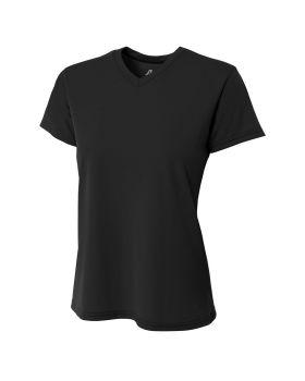 A4 NW3234 Ladies' Marathon Performance V-Neck T-Shirt