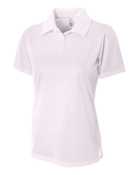 A4 NW3265 Textured Polo with Johnny Collar