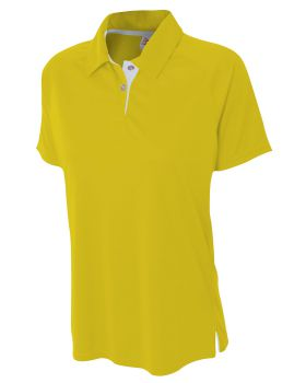 A4 NW3293 Ladies' Contrast Polo Shirt