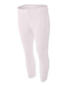 A4 NW6166 Ladies' Softball Pants
