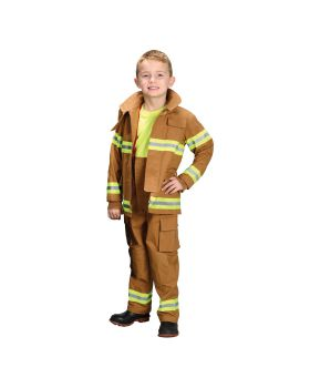 Aeromax costumes AR39SM Fire Fighter Child Tan Sm 4-6