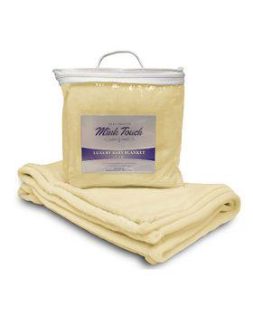 Alpine Fleece 8722 Mink Touch Luxury Baby Blanket