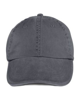 Anvil 166 Adult Solid Low-Profile Sandwich Trim Twill Cap