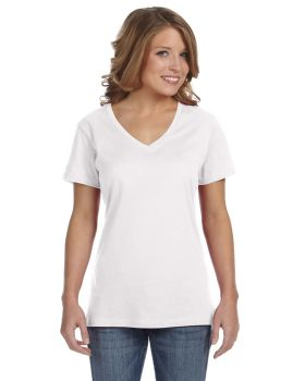 Anvil 392A Ladies' Featherweight V-Neck T-Shirt