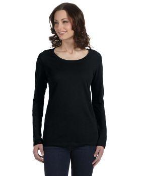 Anvil 399 Ladies' Featherweight Long-Sleeve Scoop T-Shirt