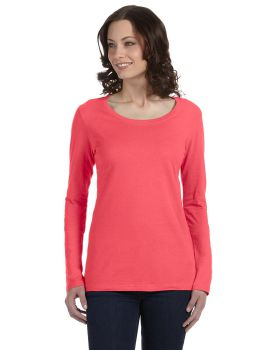 Anvil 399 Ladies' Featherweight Long-Sleeve Scoop T-Shirt