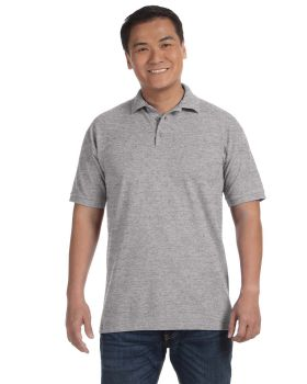 Anvil 6020 Men Ringspun Cotton Pique Polo