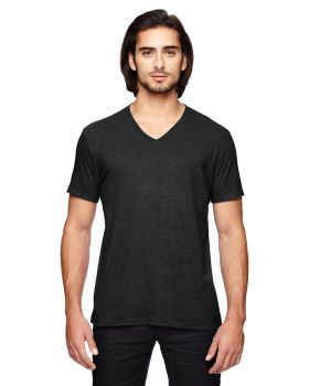 Anvil 6752 Adult Triblend V Neck T-Shirt