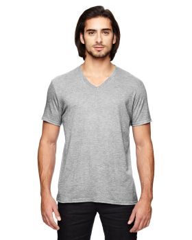 Anvil 6752 Adult Triblend V-Neck T-Shirt