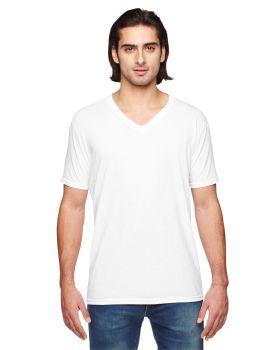 Anvil 6752 Adult Triblend V Neck T-Shirt