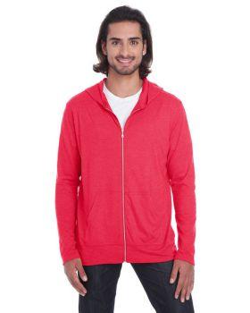 Anvil 6759 Adult Triblend Full-Zip Jacket