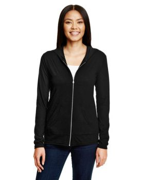 Anvil 6759L Ladies' Triblend Full-Zip Jacket