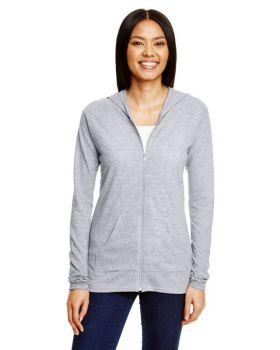 Anvil 6759L Ladies' Triblend Full-Zip Jacket