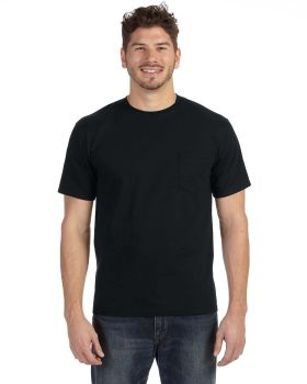 Anvil 783AN Adult Midweight Pocket T-Shirt