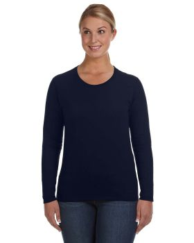 Anvil 884L Ladies' Lightweight Long-Sleeve T-Shirt
