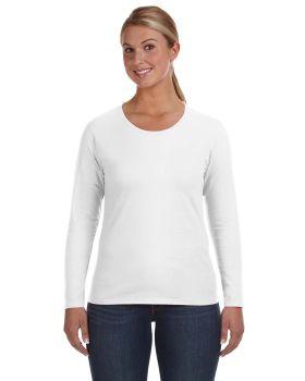 Anvil 884L Ladies' Lightweight Long-Sleeve T-Shirt