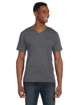 Anvil 982 V Neck Ring Spun Cotton 4.5 oz T-Shirt