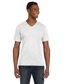 Anvil 982 V Neck Ring Spun Cotton 4.5 oz T-Shirt