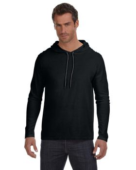 Anvil 987AN Adult Lightweight Long Sleeve Hooded T-Shirt